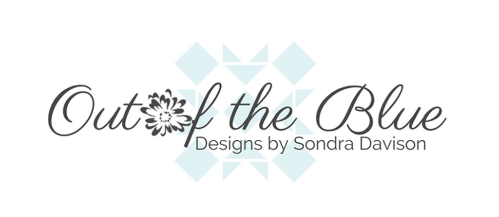 Out of the Blue Quilts by Sondra Davison - Sondra Davison is a designer, blogger, and late night quilter, obsessed with cotton, coffee, creativeness and shares her quilt ♥ at Out of the Blue Quilts – a blog for quilters.