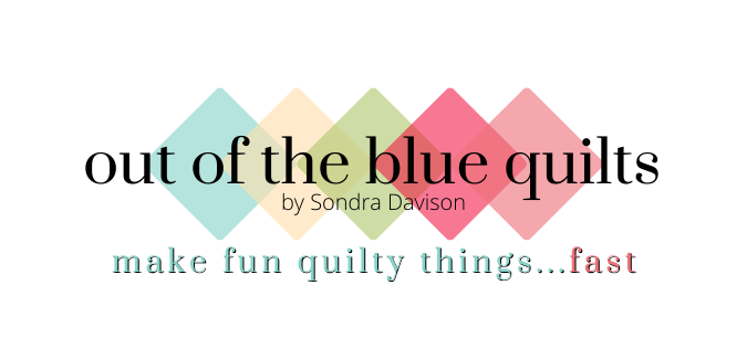 Out of the Blue Quilts by Sondra Davison - Sondra Davison is a designer, blogger, and late night quilter, obsessed with cotton, cats, coffee, and crafts – a blog for quilters.